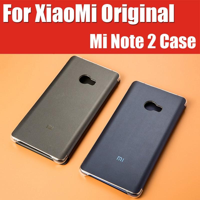 bilder für Bp1025 original mi note2 offizielle lager intelligente magnetische leder flip abdeckungen für xiaomi mi note 2 case flexible display