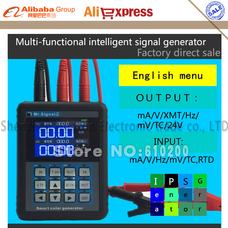 MR2.0 PRO+ 4-20mA calibration Current voltage Signal Pressure Display Signal generator DDS+B,S,K,E,R,J,T,N Thermocouple output