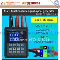 Mr2.0 Pro + 4-20ma калибровки текущее напряжение сигнала Давление Дисплей генератор сигналов DDS + b, S, k, e, r, J, t, N термопары