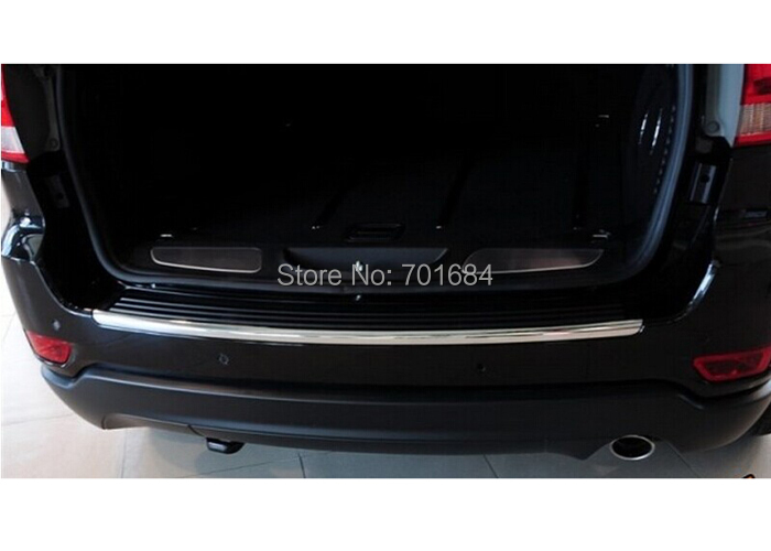 Hot For Jeep Grand Cherokee Rear Bumper Trim 2011 2012 2013 2014 2015 QPA164
