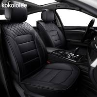 [KOKOLOLEE] pu leather Car seat Covers for KIA All Models Rio K2/3/4 Cerato Sportage cars cushion auto accessories car styling
