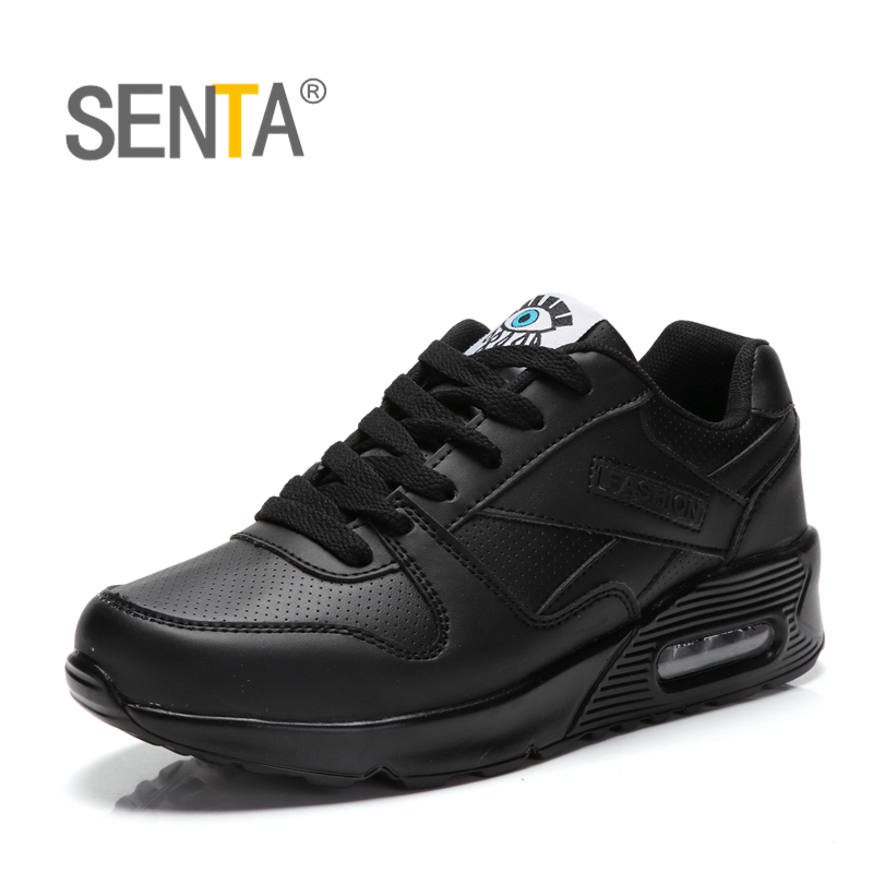 SENTA Brand Newest Spring Autumn Men Running Shoes For Outdoor Comfortable Women Sneakers Men Breathable Sport Shoes Size 35-44