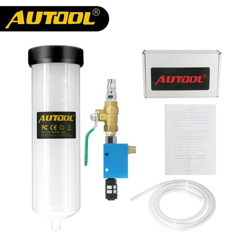 Auto Car Brake Fluid Oil Change tool Car Oil Replacement Tool Pump Oil Bleeder Empty Exchange Drained Kit Equipment Tool