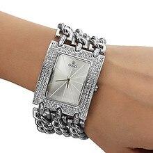 2016 Nuevas Mujeres Ocasionales Horloges Vrouwen Relojes Top Brand Pulsera Reloj Grande Del Cuarzo Starp Crystal Mujeres Reloj Libera la Nave
