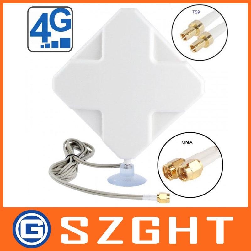 Hot Selling 35dBi 4G Antenna With TS9 Connector For Huawei E392 E398 E589 E5372 E5375 E5756 E5776