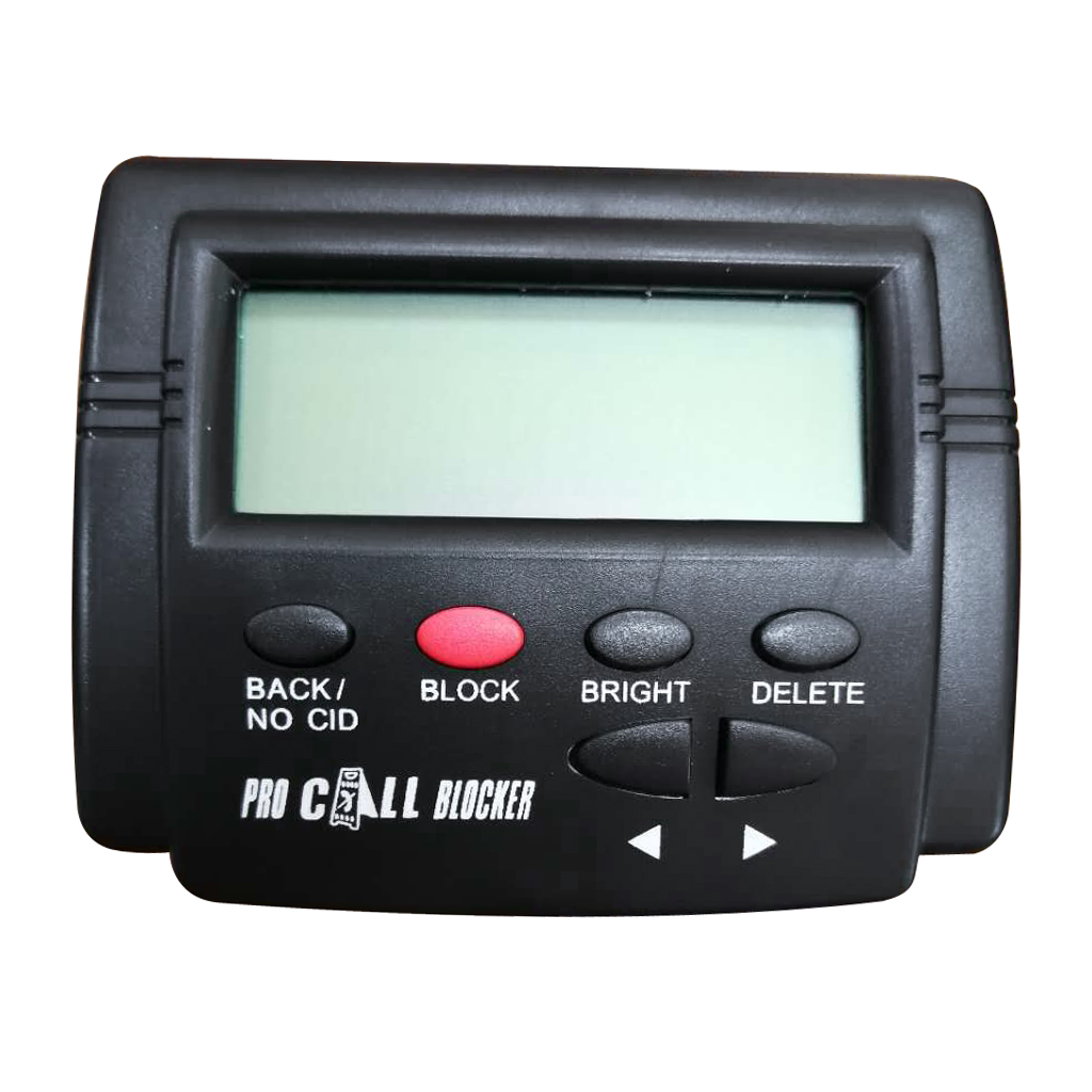Caller ID Box Call Blocker Stop Nuisance Calls For Fixed Phone 1500 Capacity