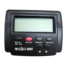 Caller id box call bloqueador parar incômodo chamadas para telefone fixo 1500 capacidade