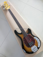 カスタムショップmusicman低音ギターのフレット、トップ品質4弦低音