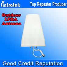 LPDA 800-2700MHz Outdoor Log Periodic Antenna 10dbi Signal Boosters Antenna for Mobile Phones Signals,Repeaters External Antenna