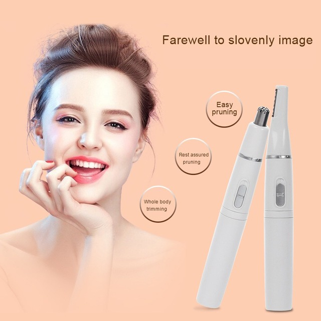 2 In 1 Shaving Cutter Electric Eyebrow Shaving Machine Nose Hair
