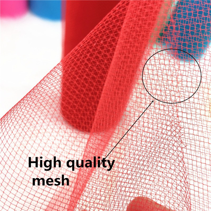 15CM 25Y 42Colors Tulle Roll Fabric Spool Craft Tulle Fabric Tutu Dress DIY Organza Baby Shower Party Supplies Wedding Decor in Fabric from Home Garden