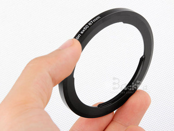 Camera Lens Adapter FA-DC67A for Canon PowerShot SX30 SX40 SX50 SX60 SX70 SX720 Reinstallation 67mm Lens Filter Hood Accessories image