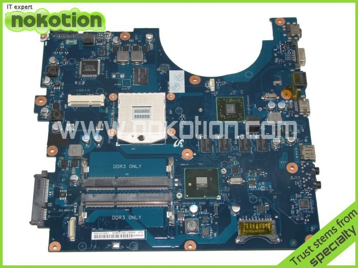 NOKOTION BA92-06966A Laptop motherboard for Samsung R540 R580 HM55 with ATI graphics card DRR3 vg 86m06 006 gpu for acer aspire 6530g notebook pc graphics card ati hd3650 video card