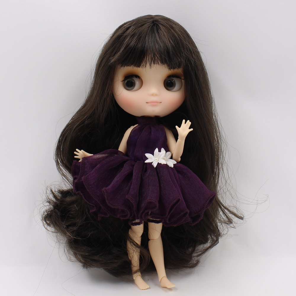 Middie Blythe Doll with Brown Hair, Tilting-Head & Jointed Body 2