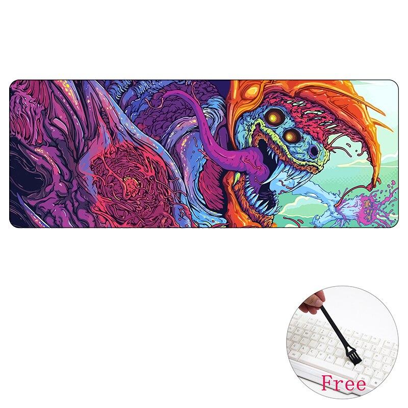 80*30cm Large Gaming mouse pad mat grande for CS GO Hyper beast AWP for CSGO gamer Mousepad game for CS:GO muismat