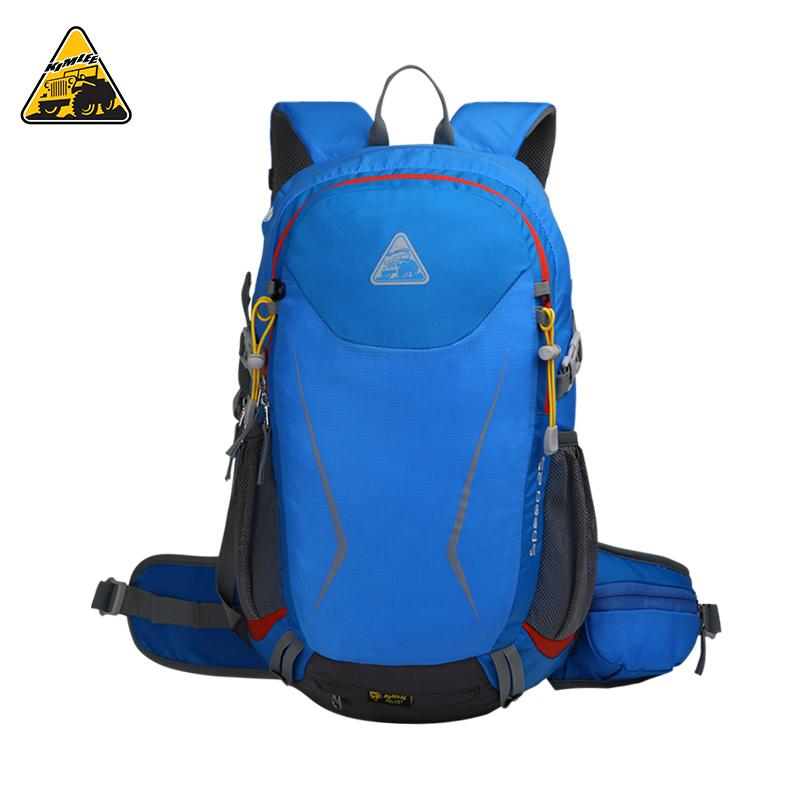 KIMLEE 25L Waterproof Outdoor Sport Camping Backpack Mountaineering Climbing Cycling Mochila Bag Travel Packsack with Rain Cover outdoor 65l mountaineering camping backpack general travel outside sport bag freeshipping