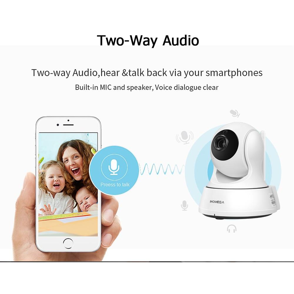 INQMEGA 720P IP kamera vezeték nélküli Wifi Cam beltéri otthoni - Biztonság és védelem - Fénykép 2