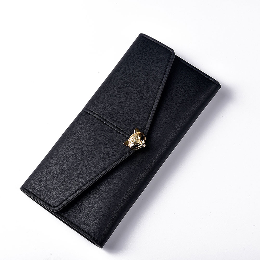 2017 Hot Sale Women Fashion Leather Wallet Leisure Clutch Bag Buckle Long Purse Girl Female High Quality Ladies Bags A8 yuanyu free shipping 2017 hot new real crocodile skin female bag women purse fashion women wallet women clutches women purse