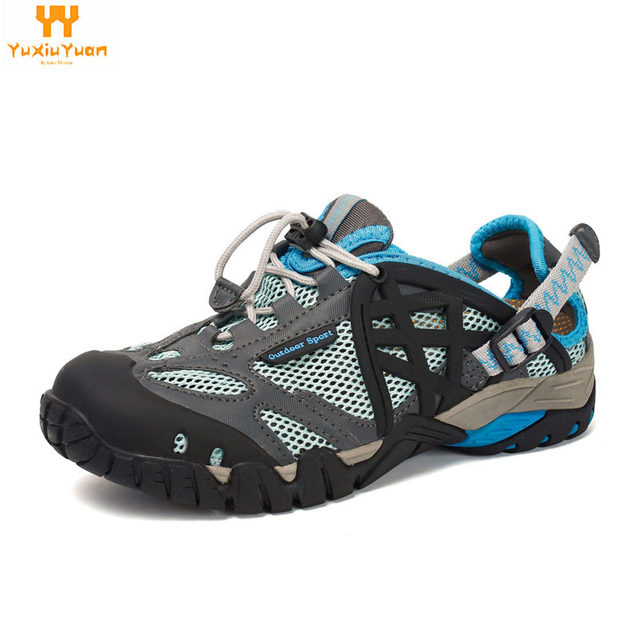 Escalada Real Climbing Sapatilhas Mulher 2018 Outdoor Sneakers Breathable Hiking Shoes Big Size Sandals Trekking Trail Water