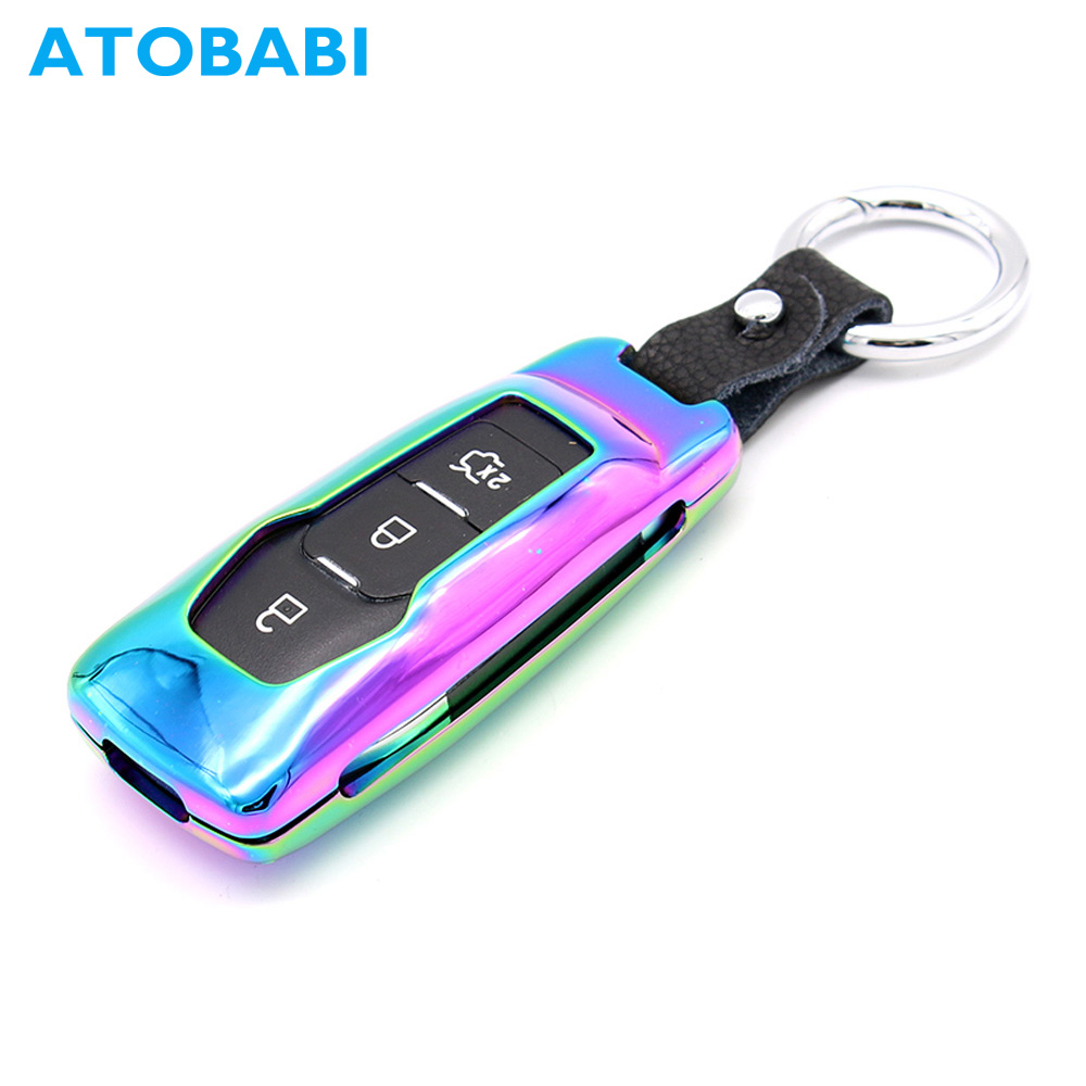 Hot Sale Atobabi Car Key Case Zinc Alloy Remote Shell Cover Skin For