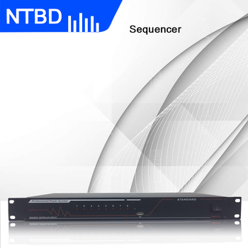 NTBD Power Sequence Automatic Power Strip Bar Effectively Protect the Switch Improve Stability 8-outlet Current Regulator