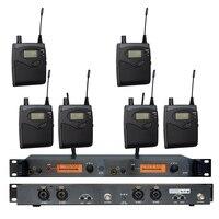 In Ohr-Monitor Drahtlose System SR2050 Doppel sender Überwachung Professionelle für Bühne Leistung 6 empfänger