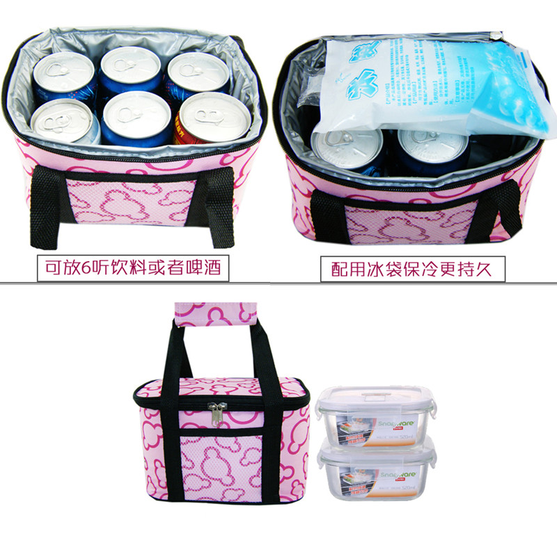Cooler Bag Thermal Food Insulation Cans Storage Picnic Lunch Shoulder Tote Bag Waterproof Box Cars Ice Keeping Bags Pack bolsa