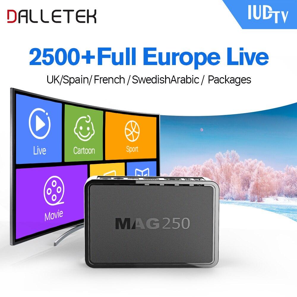 Buy Linux IPTV Box Mag 250 Iptv Set Top Box IPTV Account
