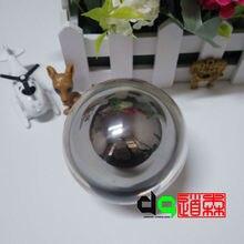 Рождественский подарок магический шар трюк акриловый контактный шар для жонглирования(75 мм шар из нержавеющей стали в шаре