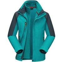 New Climbing Skiing Mountain Fishing Waterproof Windstopper Cycling Softshell Fleece Warm Outdoor Men Hiking Jacket