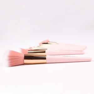Image 5 - ZOREYA 12pcs Professional Makeup Brushes Super Soft Synthetic Hair Pink Handle Make Up Brush Blending Concealer Lip Beauty Tools
