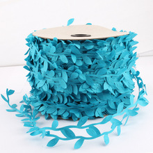1Yd/5Yds/10Yds 10Colors Vintage Soft Leaf Lace Trim Hot Sale Ribbon Pressed Garment Sewing Accessories Applique Crafts Trimming