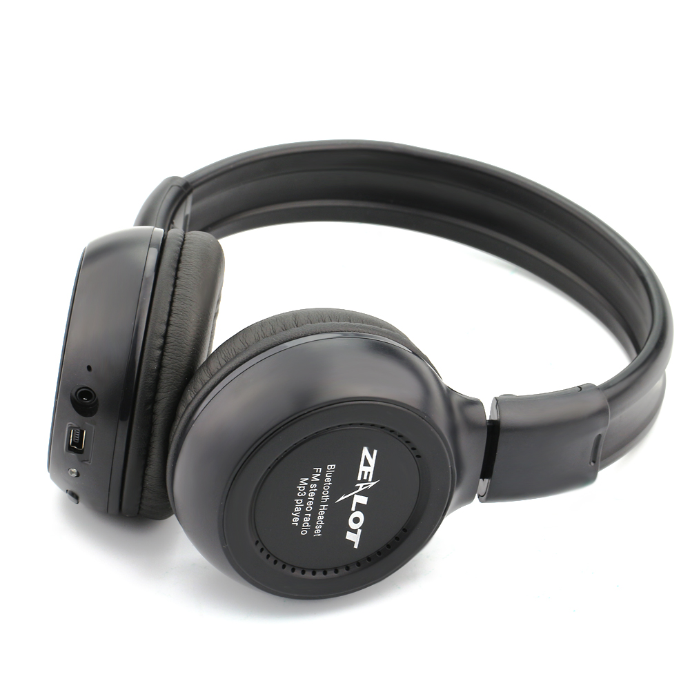 B570 HiFi Stereo Bluetooth Headphone Wireless Headset With Microphone Support FM Radio Play mp3 Micor SD Card Slot with MIC