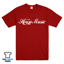 ENJOY HOUSE MUSIC PRINTED T SHIRT DANCE TRANCE IBIZA FESTIVAL ELECTRONIC  Shirts Funny Tops Tee New Unisex