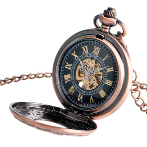 Image 4 - New Arrival Fashion Sun Carving Graved Mechanical Self wind Pocket Watch Men Women Gift for Pocket Watch Masculine Necklace