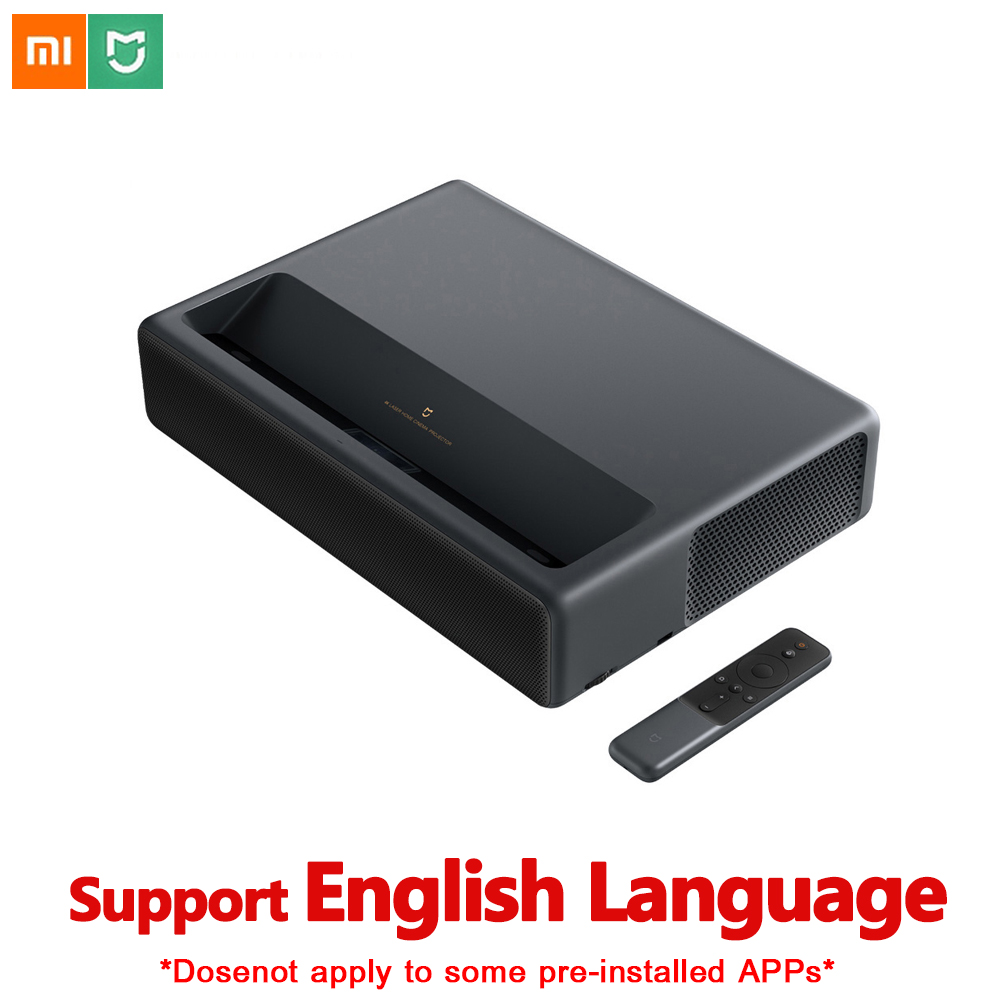 Original Xiaomi Mijia 4K Laser Projection TV Home Theater 150 Inch Wifi Bluetooth English Interface 3D Projector HDR Support DTSOriginal Xiaomi Mijia 4K Laser Projection TV Home Theater 150 Inch Wifi Bluetooth English Interface 3D Projector HDR Support DTS