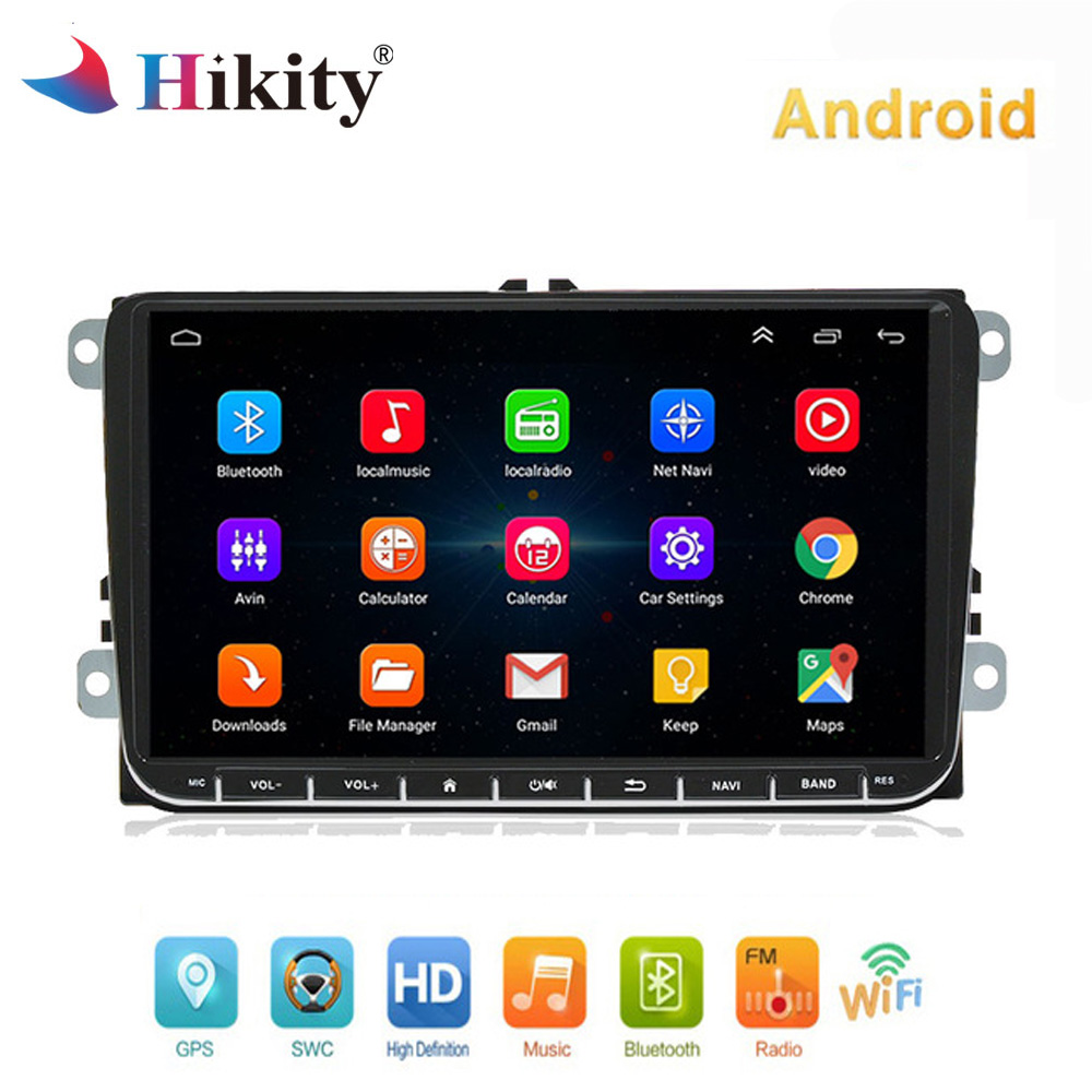 Hikity Android Car radio 9 Autoradio GPS Navigation for VW Passat Golf MK5 MK6 Jetta POLO Touran Seat CANBUS WIFI Mirror Link Hikity Android Car radio 9 Autoradio GPS Navigation for VW Passat Golf MK5 MK6 Jetta POLO Touran Seat CANBUS WIFI Mirror Link