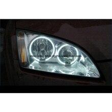 Для Ford Focus II Mk2 2004 2005 2006 2007 2008 ультра яркий дневной свет DRL CCFL ангельские глазки Demon Eyes комплект Теплый Белый Halo Кольцо