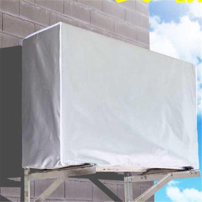 2018 Neue Outdoor Klimaanlage Abdeckung Klimaanlage Wasserdicht Reinigung Abdeckung Waschen Anti-staub Anti-schnee Reinigung Abdeckung üBerlegene (In) QualitäT