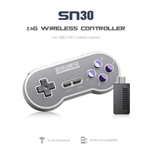 8Bitdo SF30 Finger Spinne Wireless Bluetooth Controller Joystick Gamepad Retro Design Programmable Key For IOS Android