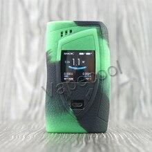 2pcs SMOK Devilkin 225W Shiled Silicone Case skin and Sleeve Cover sticker wrap for Vape Smok 225 W TC box mod