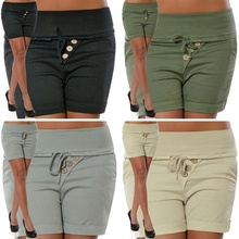 ZOGAA  Womens Fashion Summer New Casual Sexy Skinny Waist Shorts