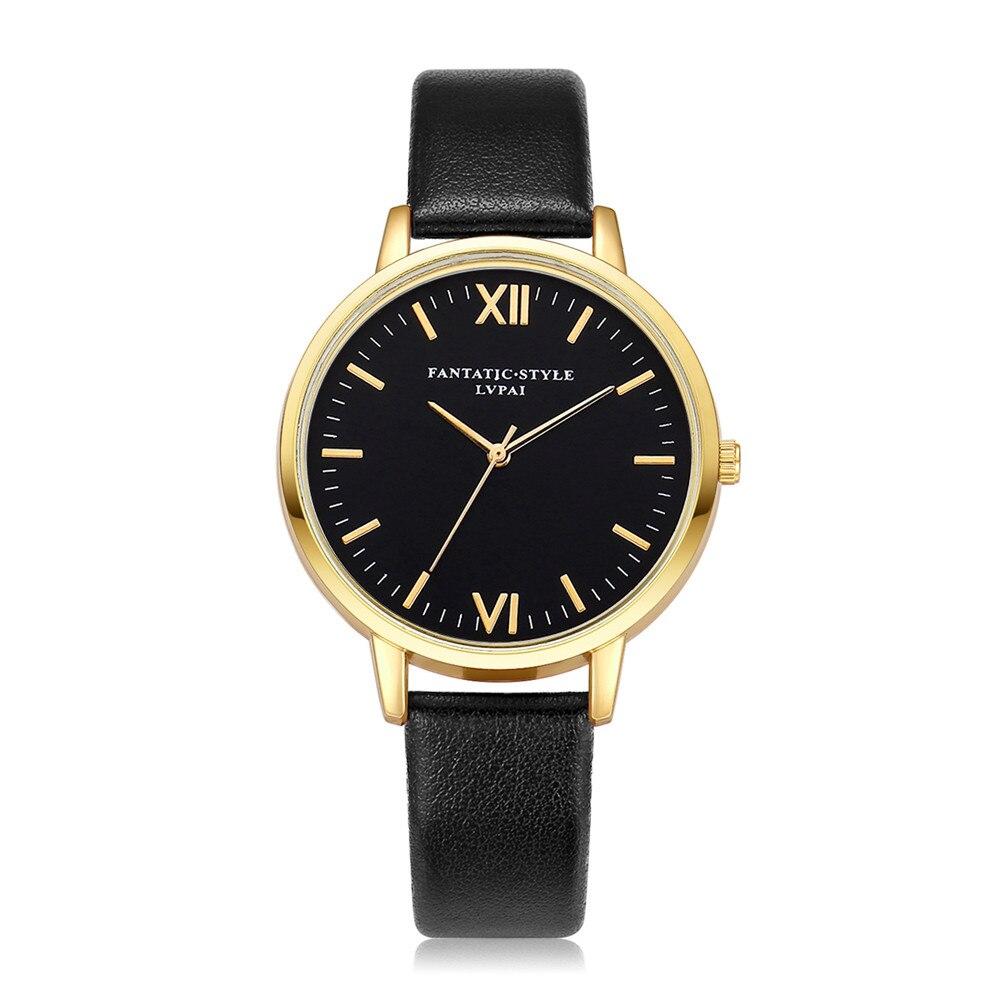Женские часы, хит продаж, повседневный циферблат, Женские кварцевые наручные часы, модный кожаный ремешок, популярные часы Zegarki Damskie @ 50