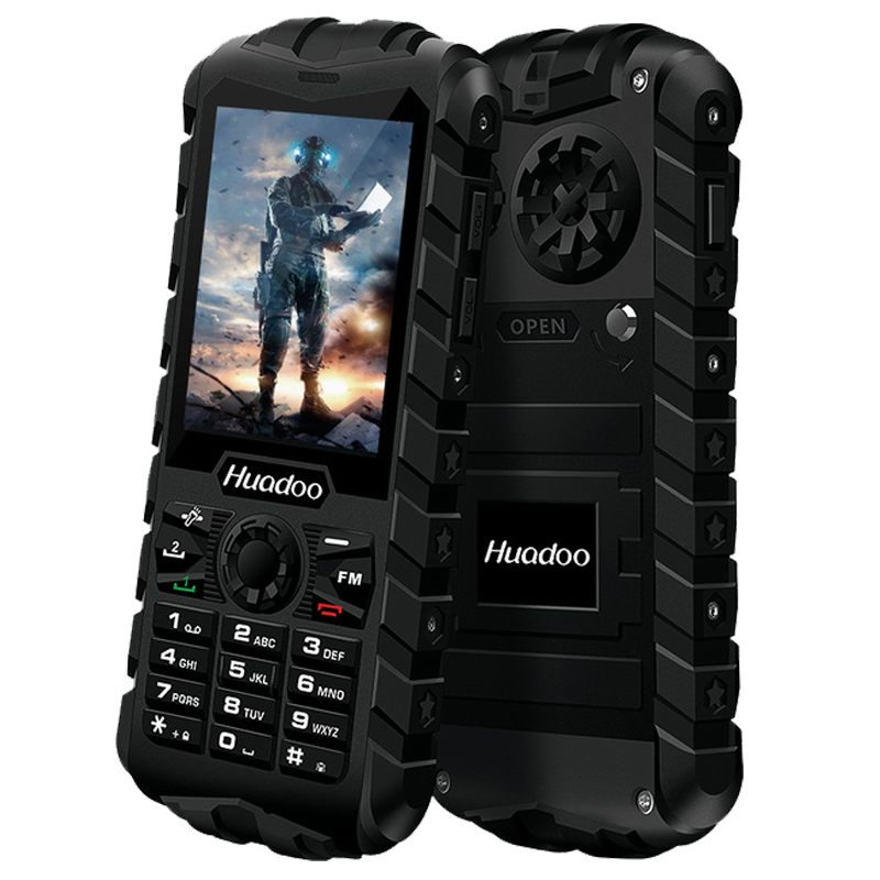 Huadoo H3L 2G GSM IP68 waterproof mobile phone FM flashlight torch support swimming shockproof dustproof outdoor Telephone