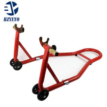HZYEYO Motorcycle Full Set Front Wheel And Rear Wheel Support Stand Wheel Stand Auto Aheel Support Frame Tire Repairing Tool(China)
