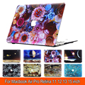 "Beautiful Oil Painting Cartoon Flower Matte Hard Cover Case For Apple Macbook Air 11"" 13"" Pro 12"" 13"" 15"" Pro With Retina"