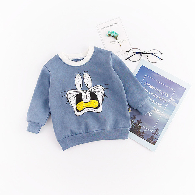 38d923381905 Newborn Animal Coat Rabbit Kid Spring child clothes boy girl Long ...