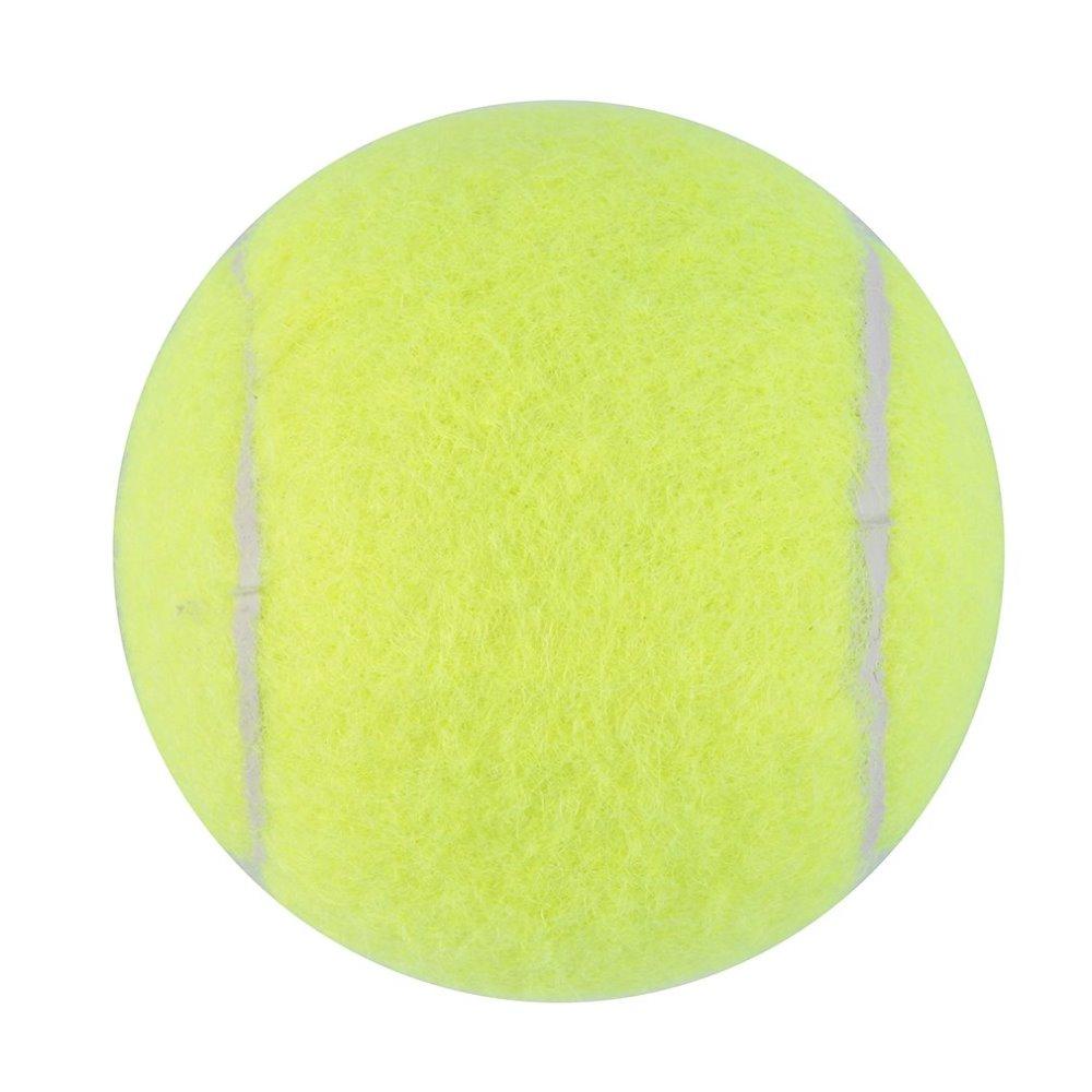 Yellow Tennis Balls Sports Tournament Outdoor Fun Cricket Beach Dog Ideal For Beach Cricket Tennis Practice Or Beach/etc