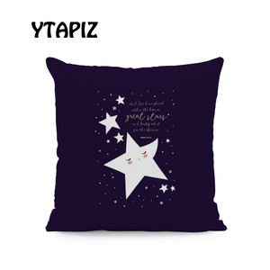 Image 4 - Lua branca Nuvem Estrela Alfabeto Padrão Castelo Ramadan Islam Arábia Saudita Kaseem Mubarek 45X45 Centímetros De Veludo Almofada Decorativa travesseiro
