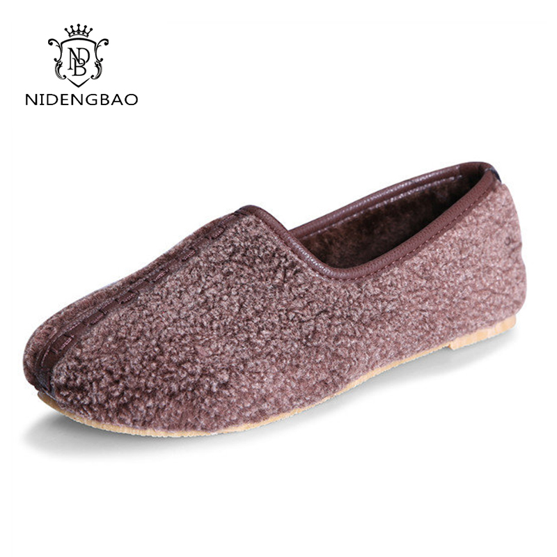 NDB 2017 Fashion Winter Cotton Women's Slippers Soft At Home Slip On Foam House Indoor shoes Warm Light Women Flip Flops